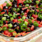 Best recipe for seven layer dip ever.